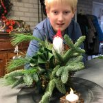 Kerststukje 2